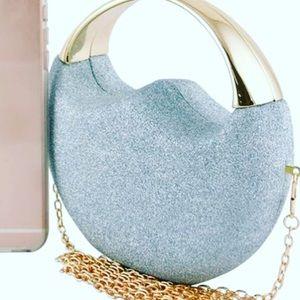 Handbags - Metallic Glitter Clutch
